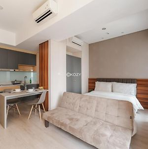Cozy And Modern 1Br Flat With Wonderful Pool View photos Exterior