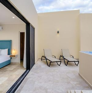 Marvelous Apartment With Plunge Pool And Pool Table In Aldea Zama photos Exterior