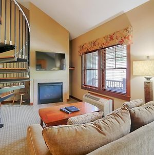 A304 - Studio With Loft Suite, Fireplace, Private Balcony! photos Exterior