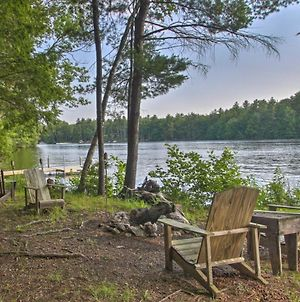 Waterfront Lake Arrowhead Home With Dock And Fire Pit! photos Exterior