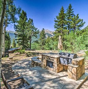 Quiet Twin Lakes Log Cabin With Lake And Mtn Views photos Exterior