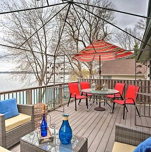 Spacious House With Deck And Yard On Lake Francis! photos Exterior