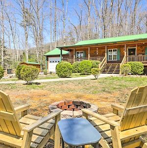Cozy Mtn Living Cabin 1 Mi To Lake Chatuge! photos Exterior