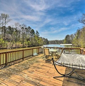 Large Lakefront Home With Hot Tub And Party Dock! photos Exterior