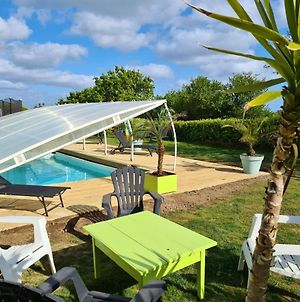 Villa With 3 Bedrooms In Plougonvelin With Wonderful Sea View Private Pool Furnished Garden 900 M From The Beach photos Exterior