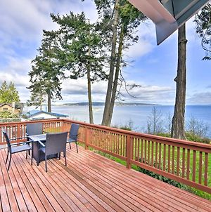 Airy Whidbey Island Escape With Coastal Views! photos Exterior