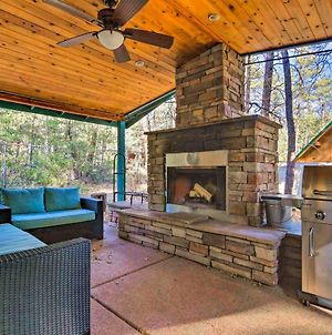 Pine House On Wooded Lot With Covered Patio And Deck! photos Exterior