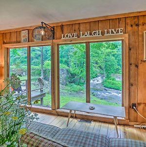 The Mill River Cabin With Fireplace And River View! photos Exterior