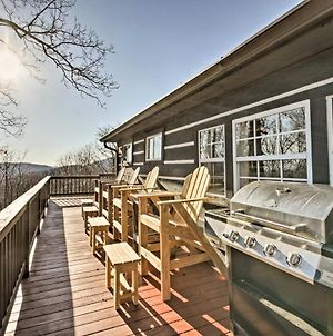 Moravian Falls Cabin With Brushy Mtn View And Fire Pit photos Exterior