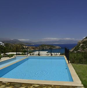 Villa Ouranos Our Dream In Blue And Cream With Seaview And Pool photos Exterior