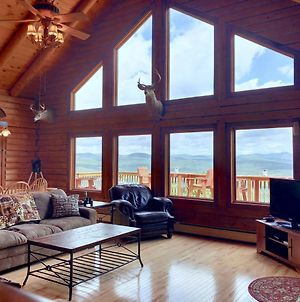 Si Incredible Views From This Log Cabin With Large Deck, Huge Yard, Fire Pit, Hot Tub! photos Exterior