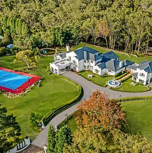 European Inspired Palatial Chateau With Champion Sized Tennis Court, Indoor Pool & More photos Exterior