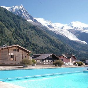 Modern Studio With Mont Blanc View And Pool photos Exterior