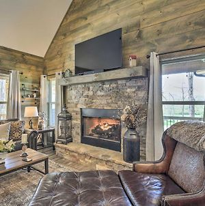 Updated Blairsville Cabin With Fire Pit And Deck! photos Exterior