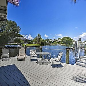 Riverfront Cape Coral Property With Boat Dock! photos Exterior