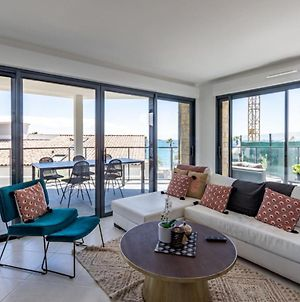 Modern Apt With Balcony At 1Mn Walk From The Beach photos Exterior