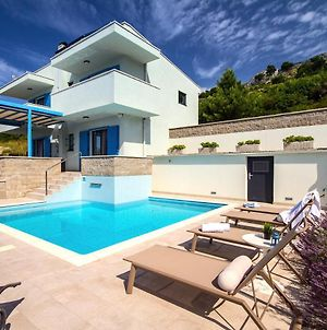 Villa Allegra With 32Msq Heated Pool, 300M Far From Sandy Beaches, Open Sea View photos Exterior