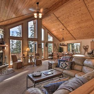 Lazy Moose Cabin With Wraparound Deck And Privacy! photos Exterior
