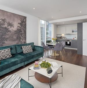 Luxurious Spacious 2Bed Flat In Canary Wharf W/Views Of River Thames photos Exterior