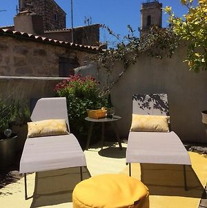 Wonderful Historic French Townhouse With A Fantastic Roof Terrace. photos Exterior