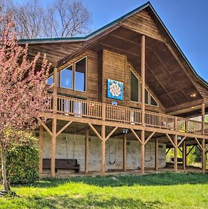 Burnsville Cabin With Wraparound Deck And Mtn View! photos Exterior