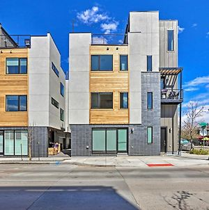 Modern Townhome With Rooftop And Mountain Views! photos Exterior