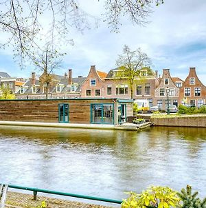 Beautiful Houseboat In The Centre Of Leiden photos Exterior