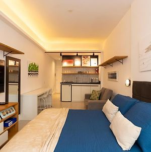 Omar Do Rio - Du 57/502: Modern Studio W / Side Sea View, 80 Meters From Copacabana Beach, 240Mbps Internet + Workstation And Smart Tv. photos Exterior