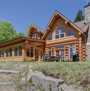 Chalet For The Family In Nature Hot Tub photos Exterior