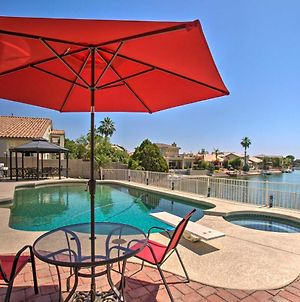 Luxe Lakefront Pool, Spa, Gazebo And Massage Chair photos Exterior