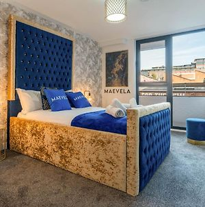 Maevela Apartments - Huge 7Ft Emperor Luxury 2 Bed Apartment - With Parking - New Build - City Centre, Digbeth - Rooftop Terrace - Ps4 & Smart Tv'S photos Exterior