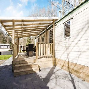 Comfy Mobile Home In Bakkeveen With Terrace photos Exterior