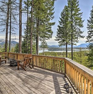 Hand-Crafted Cabin With Whitefish Lake Views! photos Exterior