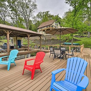 Lake House Haven Fire Pit, Boat Dock And More! photos Exterior