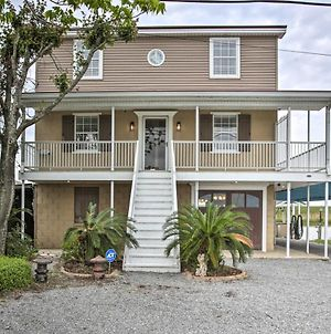Waterfront Home With Boat Launch, 30 Mi To Nola photos Exterior