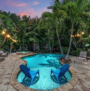 Blocks To The White Sand Beaches With A Backyard Oasis That You Will Never Want To Leave photos Exterior