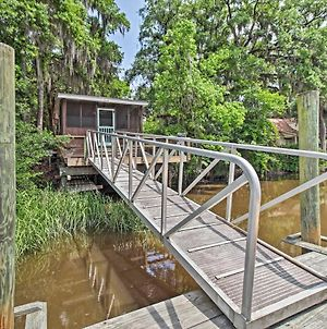 Rustic Midway Retreat With Deck And Creek Access! photos Exterior