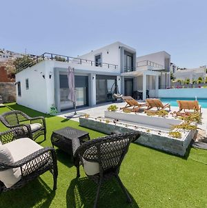 Astounding House With Private Pool And Charming Sea View In Bodrum photos Exterior