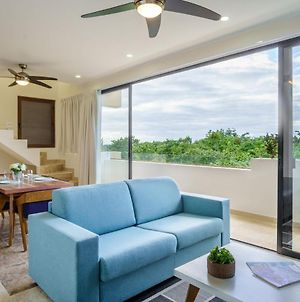 Aldea Zama Stylish 2 Units In One With Private Plunge Pool In Balcony photos Exterior