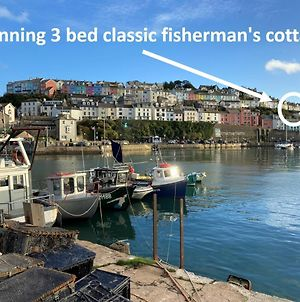 The Seadog, Traditional Fisherman'S Cottage With Beach Hut On Broadsands Beach photos Exterior