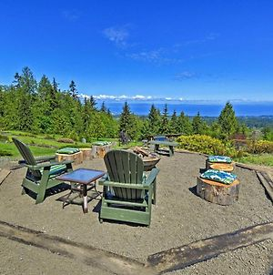 Picturesque Port Angeles Cabin With Fire Pit! photos Exterior