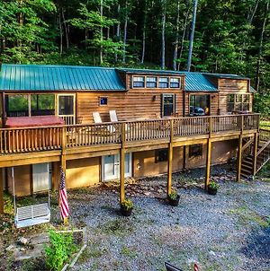 Family Cabin On 6 Acres With Lake Access And Hot Tub! photos Exterior