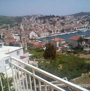 Studio Apartment In Hvar Town With Sea View, Balcony, Air Conditioning, Wi-Fi photos Exterior