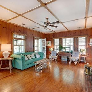Brand New Listing! Heated Pool Access Large Tybee Home Short Walk To Beach photos Exterior