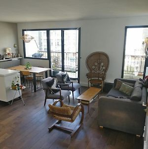 Bright Spacious Architects' Apt Near Park, With Terrace, View Of Sacre Coeur, Baby Ok! photos Exterior