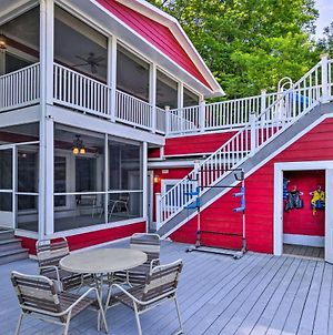 Unique Lake Lure Hideaway With Dock, Waterslide photos Exterior
