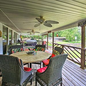 Waterfront Home With Dock 6 Mi To Hot Springs! photos Exterior