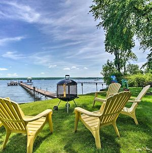 Lakefront Mayville Cottage With Dock And Grill! photos Exterior