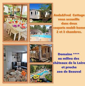 Anda&Fred Cottage Mobil-Home Blois-Tours-Loire-Beauval photos Exterior