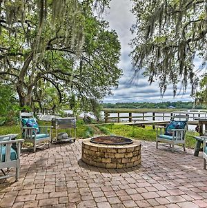 Luxe Riverfront Oasis With Dock, 7 Mi To Beach! photos Exterior